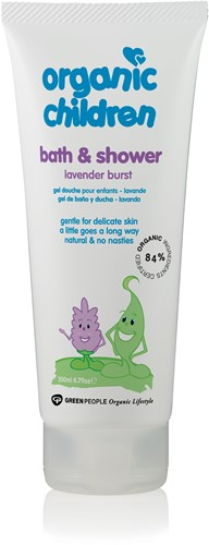 Organic Children Bath & Shower Gel Lavendel