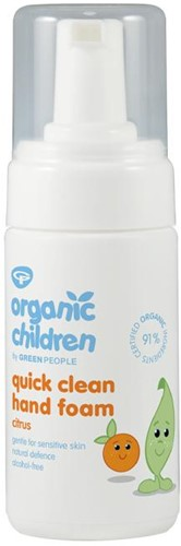 Organic Children Hand Foam