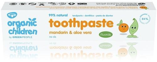 Kids Mandarijn Tandpasta met Fluoride