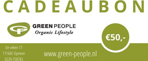 Cadeaubon Green People